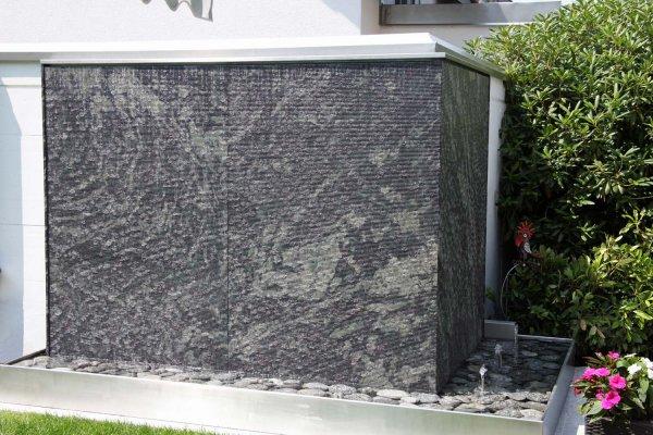 Winter brunnenbau wasserw nde - Wasserwand wohnzimmer ...